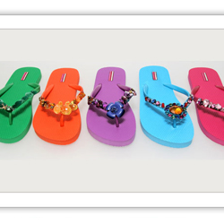 Colored Flip Flops